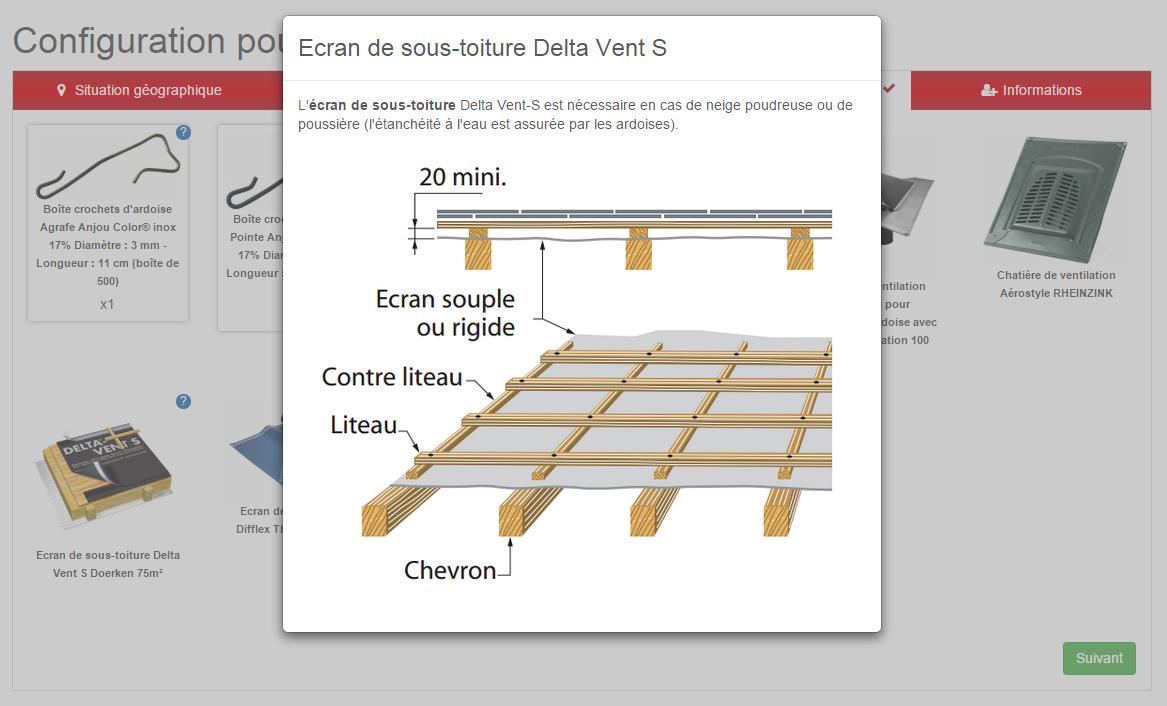 Configurateur de mat riaux en ligne distriartisan for Configurateur cuisine en ligne