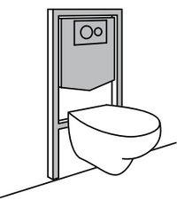 bati support wc suspendu top bati support wc suspendu. Black Bedroom Furniture Sets. Home Design Ideas
