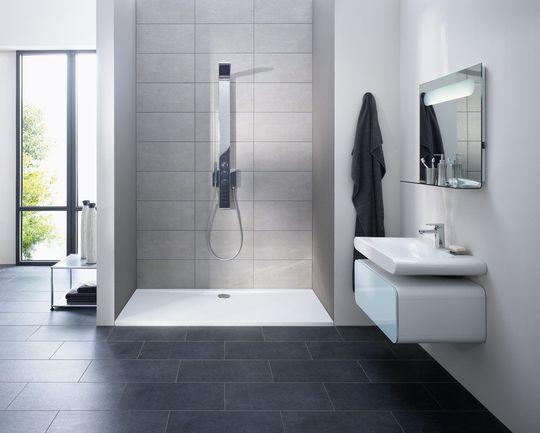 comment faire sa propre douche l 39 italienne distriartisan. Black Bedroom Furniture Sets. Home Design Ideas