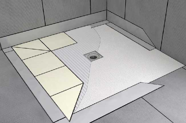 Comment carreler un douche distriartisan for Conseils pose carrelage