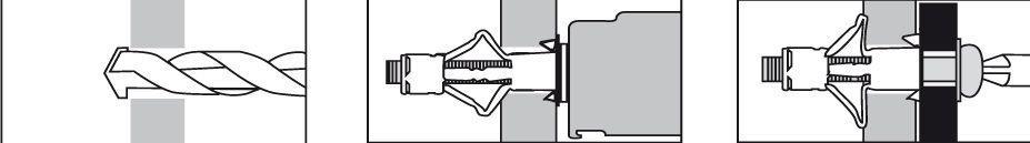 chevilles force 4 molly m talliques universelles multimat riaux sans vis distriartisan. Black Bedroom Furniture Sets. Home Design Ideas