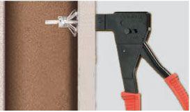 pince professionnelle triple action molly pour chevilles. Black Bedroom Furniture Sets. Home Design Ideas