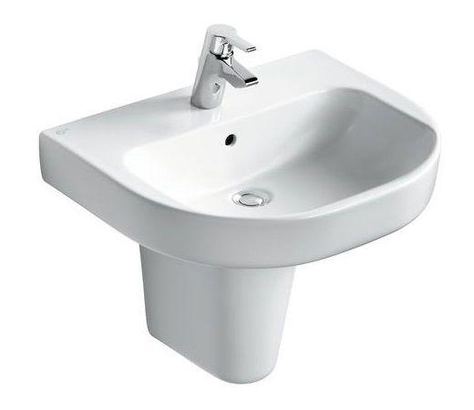 Ideal standard lavabo kheops distriartisan for Largeur lavabo standard
