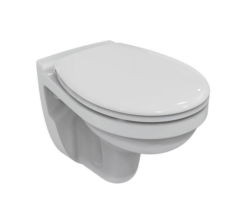Geberit ensemble b ti support duofix autoportant for Lunette wc ideal standard