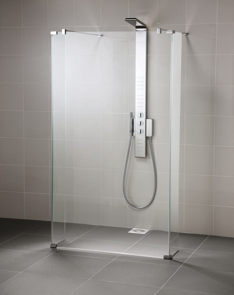 Ideal standard pare douche connect verre transparent distriartisan - Porte pour douche italienne ...