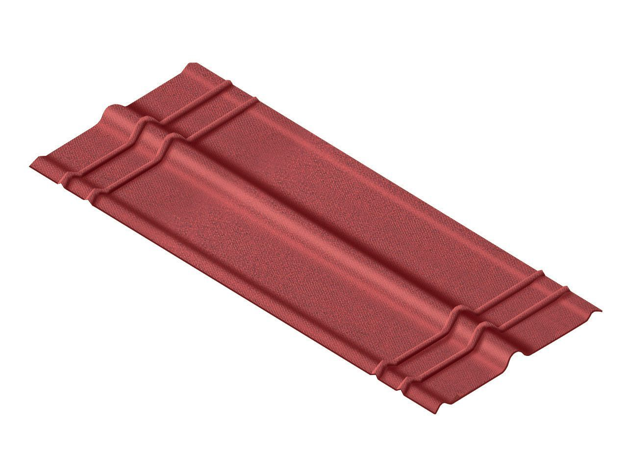 Fa ti re pour plaques ondul es ondutoit 1 m x 245 mm coloris au choix plaqu - Tole ondulee bitumee noir rouge vert ...