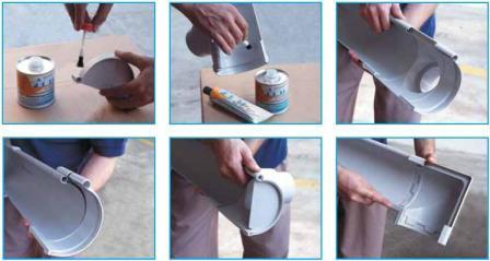 COLLE GOUTTIERE PVC 1ML Magasin de Bricolage Brico