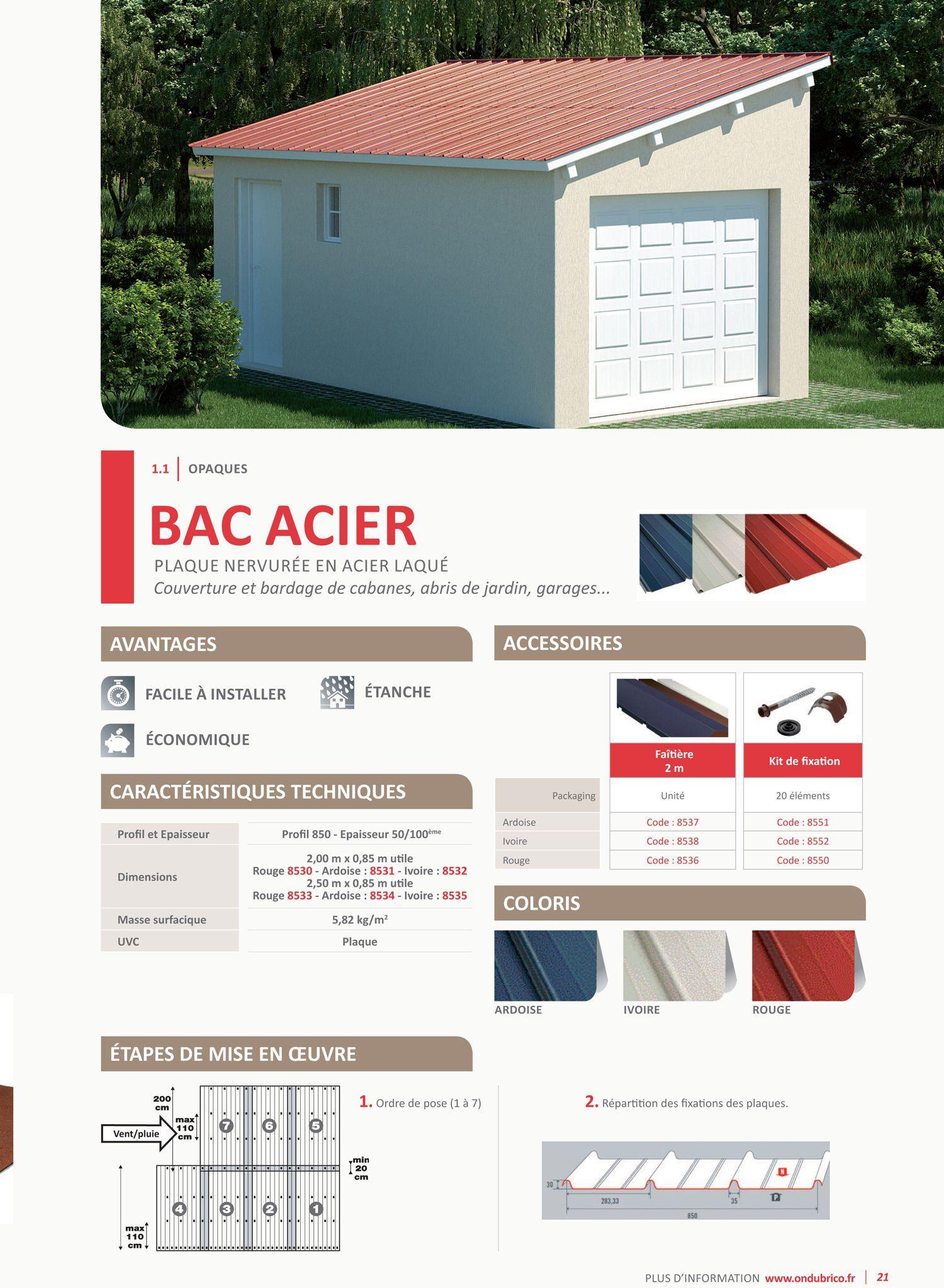 produit anti pour bac acier beautiful kit de fixation pour tle de couverture rouge bacacier. Black Bedroom Furniture Sets. Home Design Ideas
