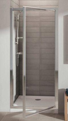 Ideal standard porte de douche pivotante acc s face for Grandeur de porte standard